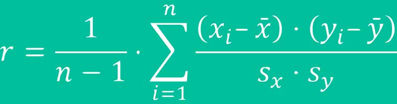 Formel Korrelationseffekt