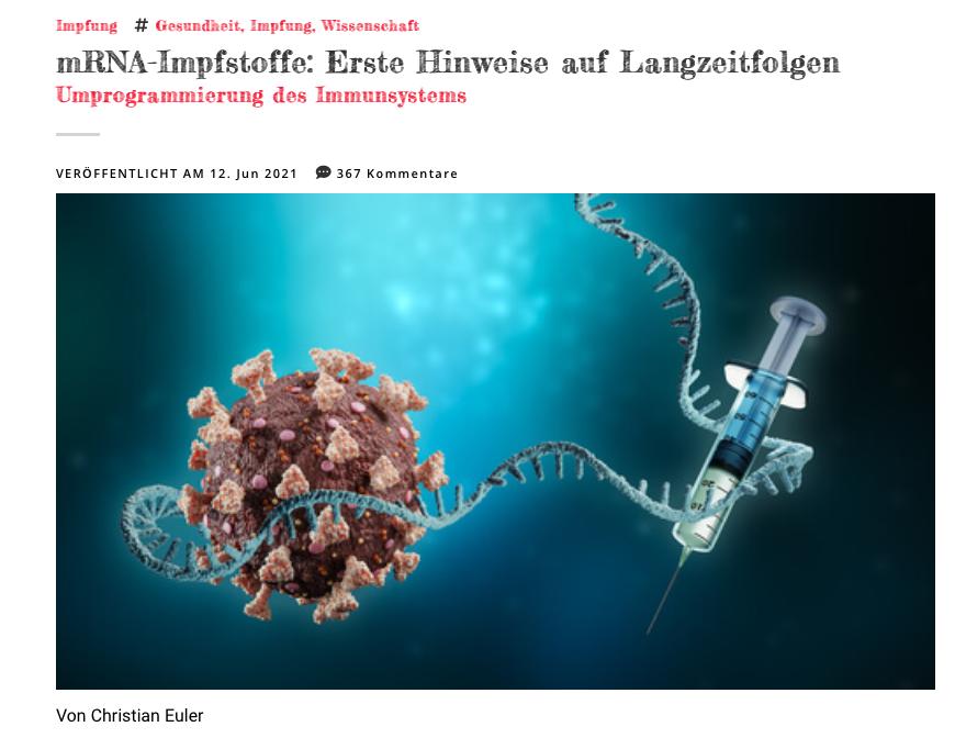 Artikel auf Reitschuster.de