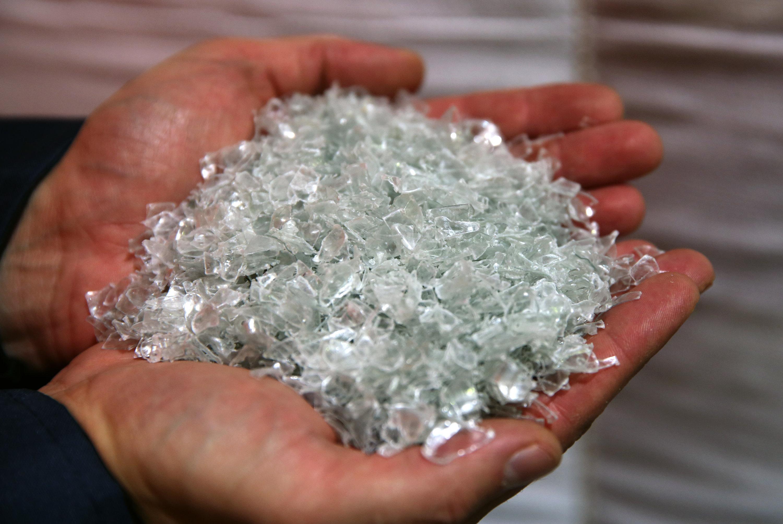 Plastik-Flakes