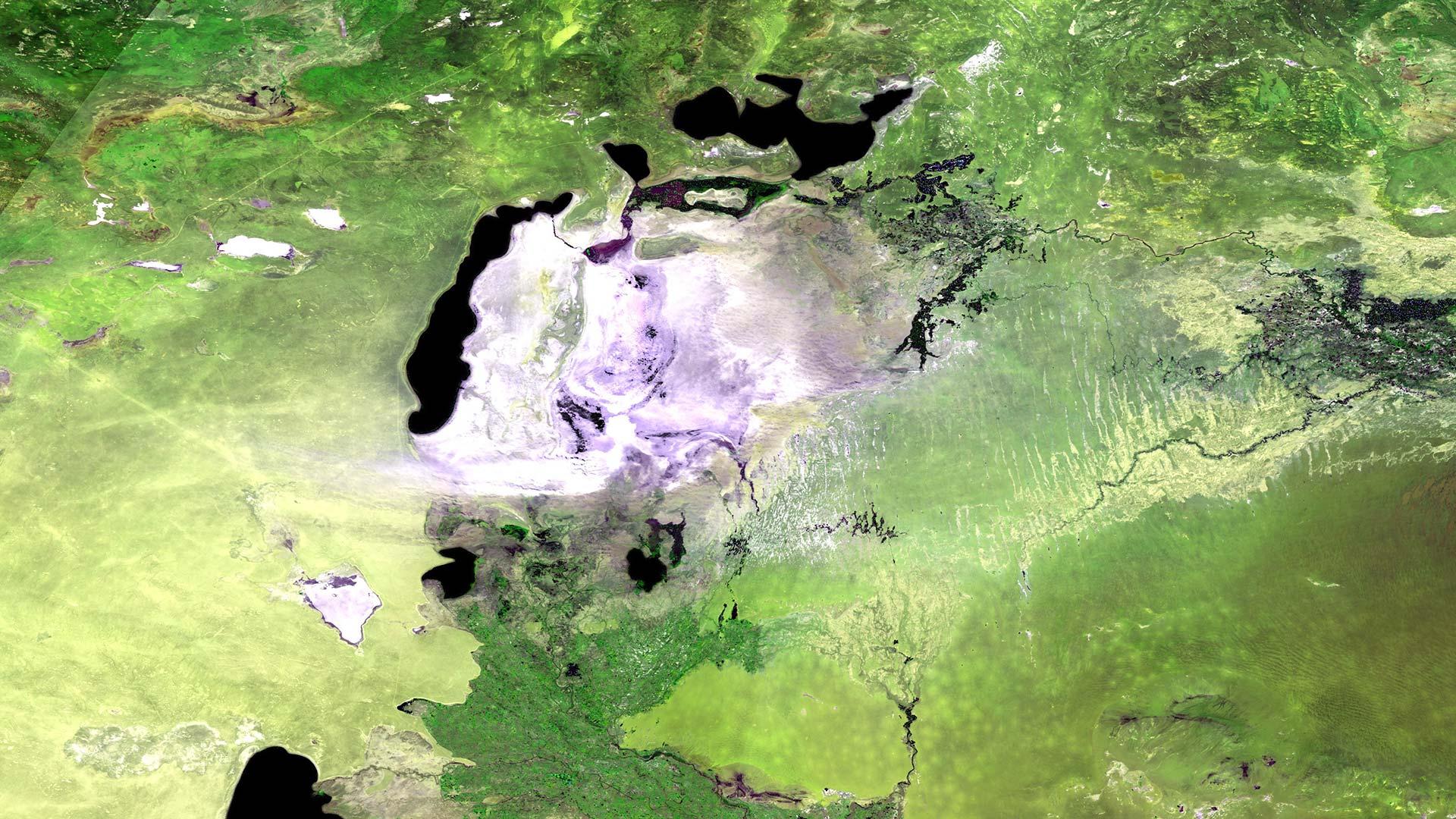 Aral-See in Asien