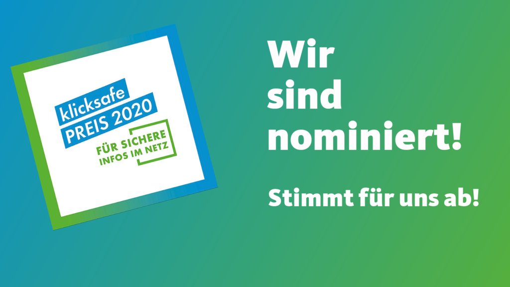 Logo Klicksafe-Preis