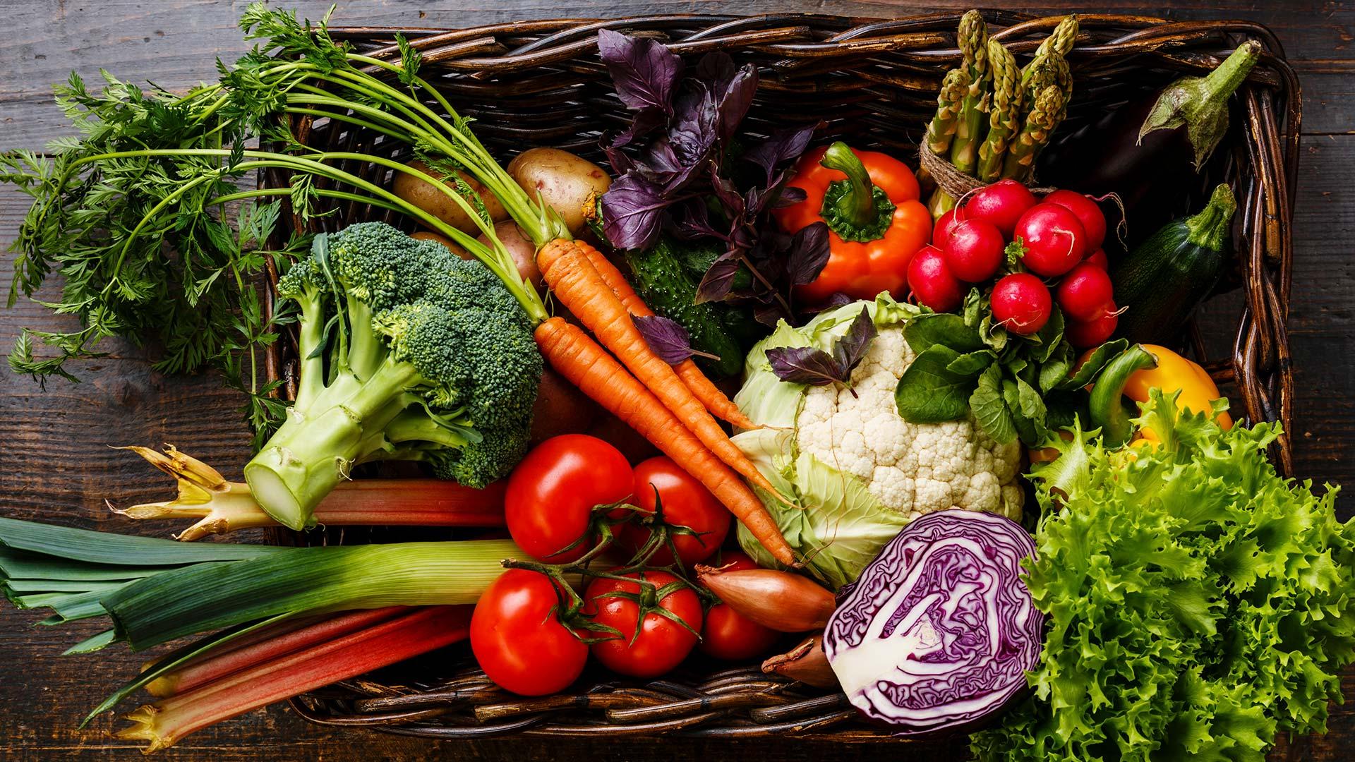 Rohe vegane Ernährung